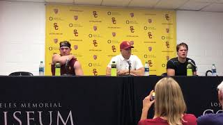 Clay Helton: Utah-USC postgame presser