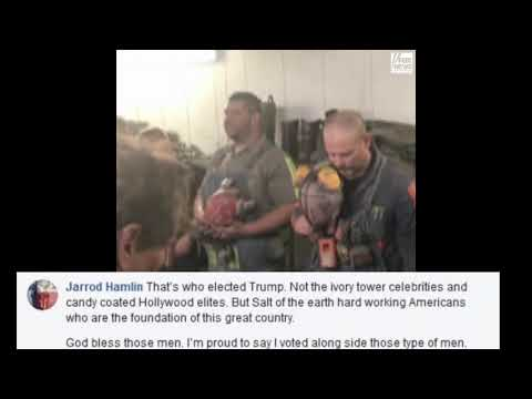 West Virginia coal miner sings the national anthem prior to his shift underground.
