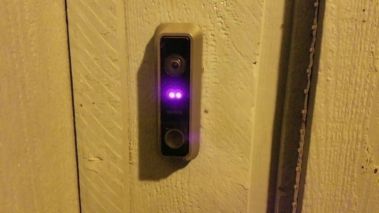 Vivint doorbell won't stop ringing