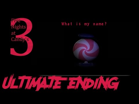Ultimate Ending Five Nights at Candy's 3! - Fangame Five Nights at Freddy's!