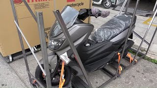 The unboxing of 2020 YAMAHA NMAX 155cc