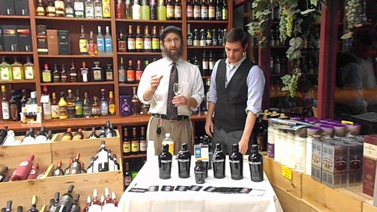the kosher spirit review #11 bulldog gin - youtube