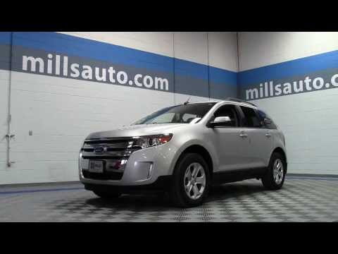 2013 Ford Edge SEL AWD SUV **Certified, One Owner** 1U130263