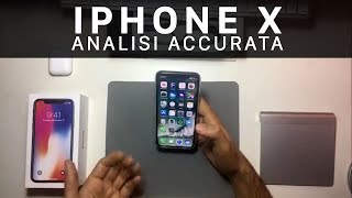 iPhone X: Analisi accurata
