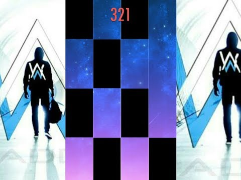 OFFICIAL PIANO TILES 2 - ALAN WALKER - FADED FULL VERSION (NO MOD) 1 HAND MODE PREVIEW GAMEPLAY