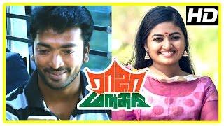 Raja Manthiri Tamil Movie Scenes | Kaali Venkat sends Kalaiarasan to college | Shalin Zoya