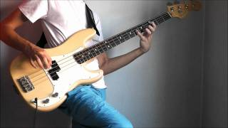 Iron Maiden - The Clairvoyant (BASS cover with bass backing track)