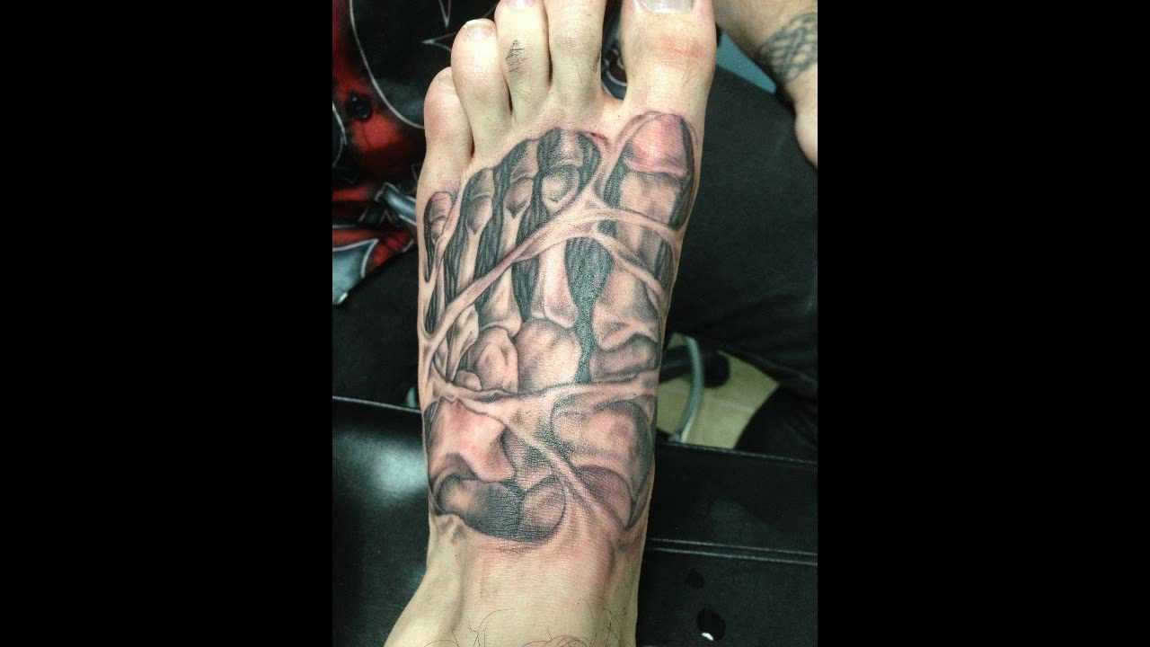 Nightmarerh 39 s penis tattoo youtube for Testicle tattoo pictures
