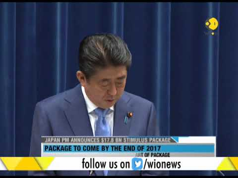Japan PM announces $17.8 bn stimulus package