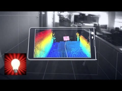 Google unveils Tango 3D mapping smartphone - This is REAL Genius
