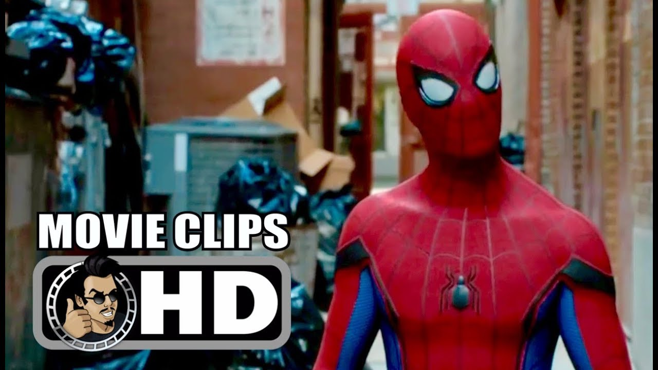 spider-man: homecoming - 5 movie clips + trailer (2017) tom holland