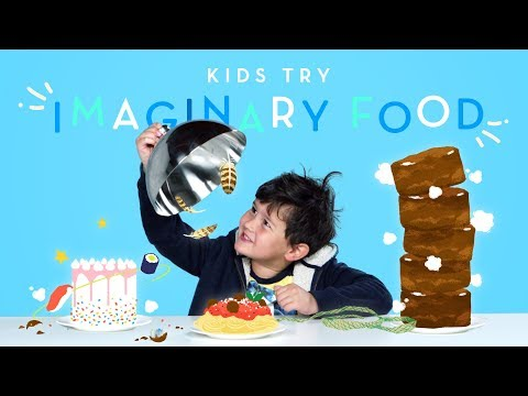 Kids Try Imaginary Food | Kids Try | HiHo Kids
