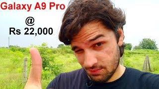 Samsung Galaxy A9 Pro @ Rs 22,000 : Worth Buying !! [Hindi]
