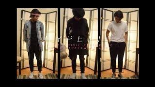 Asian Streetwear Haul | HypeFIT ft  forever21, Civil Regime, etc  | Ep  5