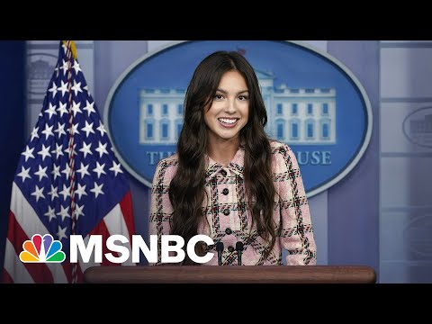 Olivia Rodrigo Makes A Surprise Appearance At White House Press Briefing