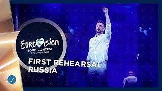 Russia 🇷🇺 - Sergey Lazarev - Scream - First Rehearsal - Eurovision 2019