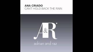 Ana Criado Can T Hold Back The Rain Stoneface Terminal Remix