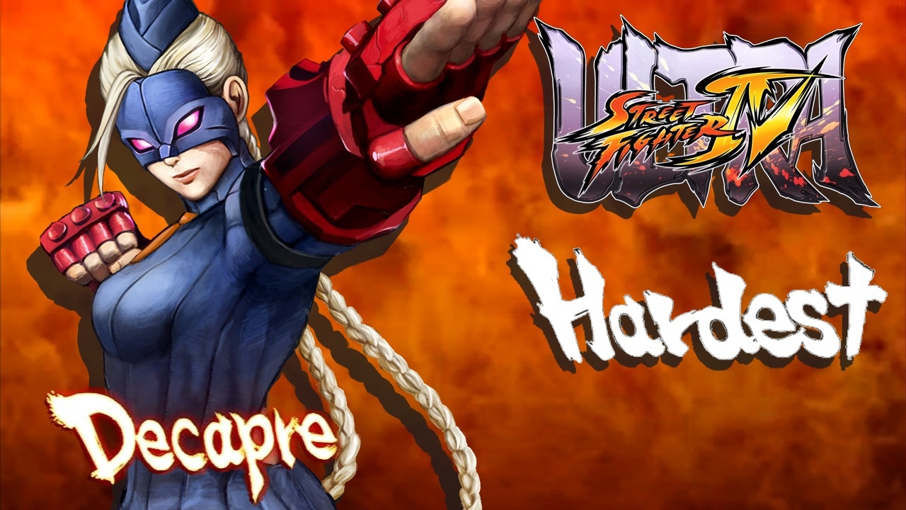 Ultra Street Fighter IV - Decapre Arcade Mode (HARDEST)
