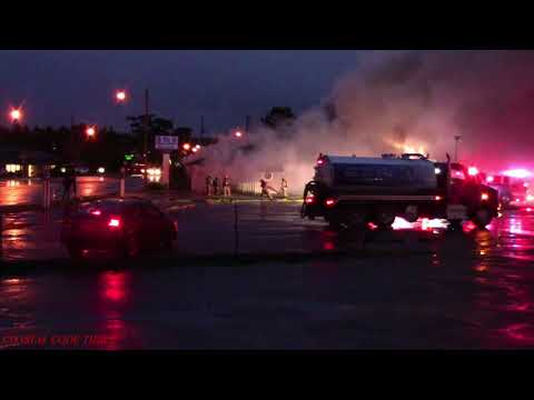 Florence Oregon commercial structure fire 312018