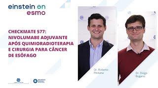 ESMO 2020: CheckMate 577: nivolumabe adjuvante após quimioradioterapia e cirurgia para câncer de esôfago