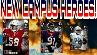 NEW CAMPUS HEROES! SCOOBY WRIGHT III, DEVON STILL!!! MADDEN 17 ULTIMATE TEAM