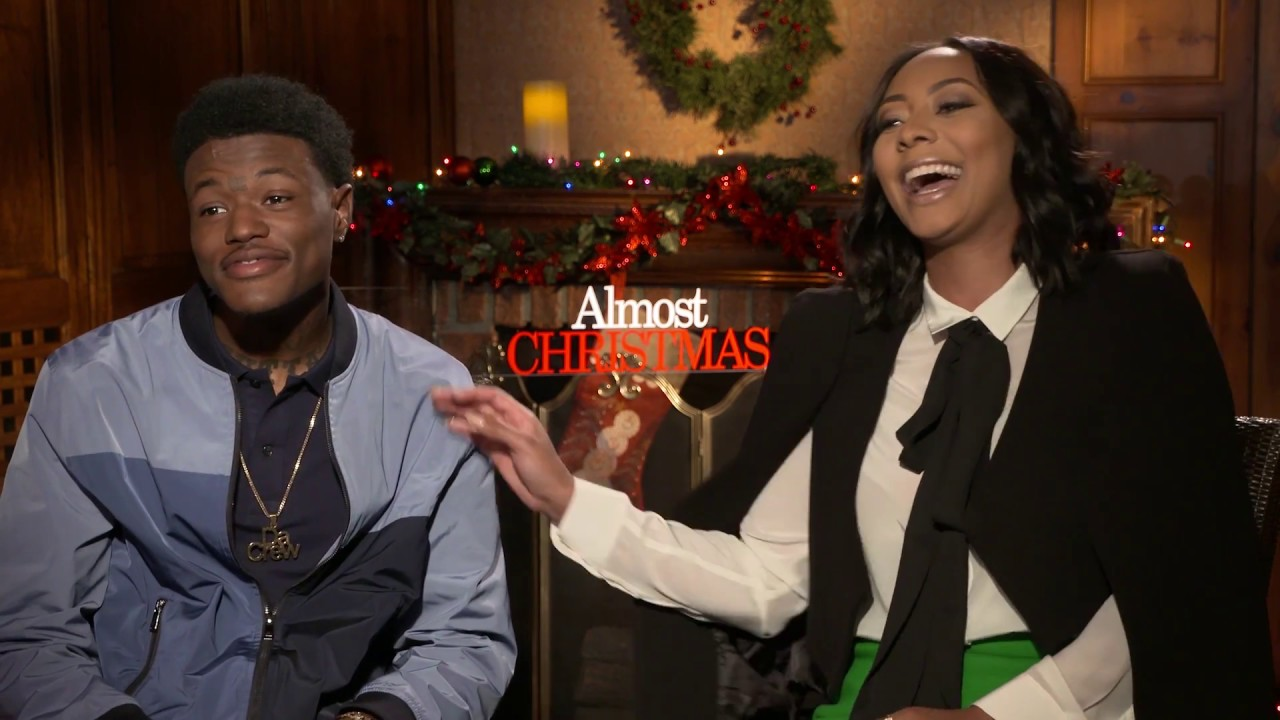 ALMOST CHRISTMAS: Backstage with Keri Hilson & DC Young Fly - YouTube