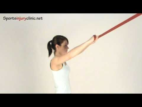 Lat Pull Down using resistance Band