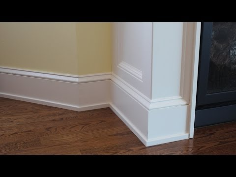 How to install shoe molding, tips on designing interior ...