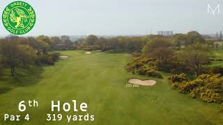 Orsett Golf Club 6th Hole Flyover