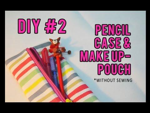 DIY #2 Membuat Tempat Pensil Tanpa Dijahit - Sampan Mimpi