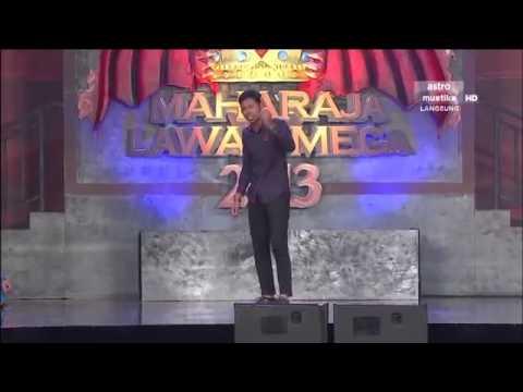 Maharaja Lawak Mega 2013 - Minggu 11 - Persembahan Nabil