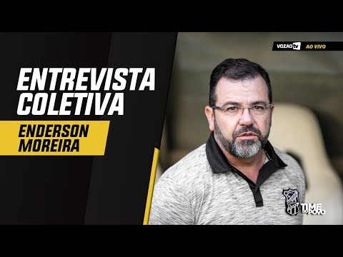 COLETIVA Coletiva Enderson Moreira   13092019  Vozão TV