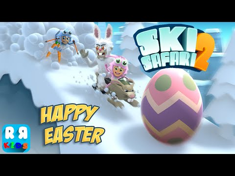 Ski Safari 2 : New Update Happy Easter - iOS / Android - Gameplay Video