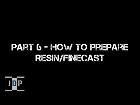 Miniature Painting 101 - Part 6 - Preparing Resin/Finecast Miniatures