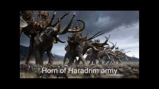 Horn of Haradrim army