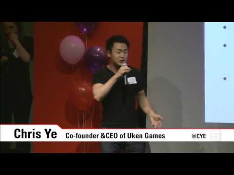HackerNest Toronto & Girls in Tech - Chris Ye