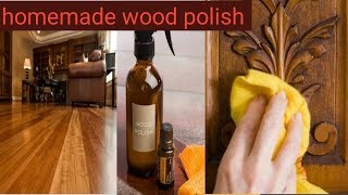 homemade wood polish/how to clean wood furniture/how to do wood polish at home in hindi
