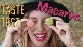 Macaron Taste Test in Paris