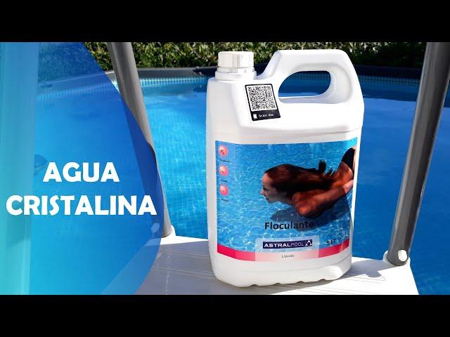 Elimina el Agua Turbia de tu Piscina | La Solución Aplica Floculante, Agua Cristalina como el 1º día