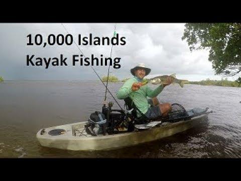 Kayak Fishing Everglades 10,000 Islands