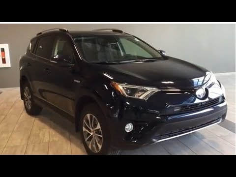 2018 Toyota RAV4 Hybrid LE XLE Upgrade   Toyota Northwest Edmonton   8RH0875