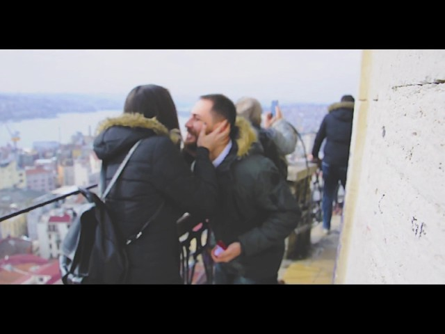 Marriage Proposal in Galata Tower