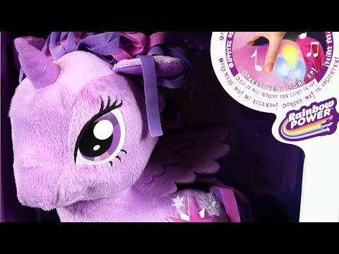 Twilight Sparkle Cutie Mark Light Up Plush / Twilight Sparkle Z Dźwiękiem I Światłem - MLP
