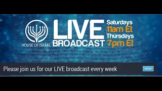 Join us Live at House of Israel at 11AM ET on the Internet @ http:/...