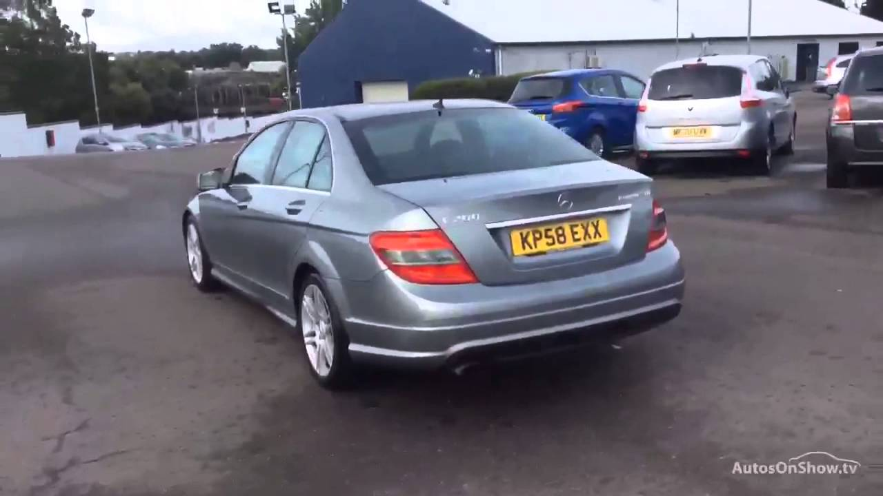 hight resolution of mercedes c class c200 kompressor sport aluminium silver 2008