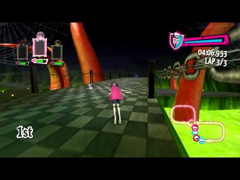 Monster High Skultimate Roller Maze и Миёк   #4 Let's Play]