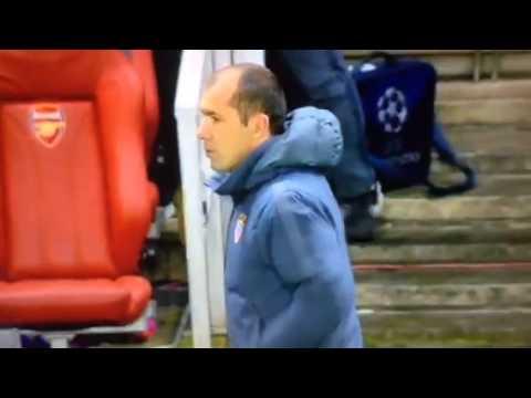 Арсенал - Монако 0-2 Бербатов 2015