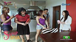 Sarap Diva: Antonietta and Solenn visits Regine