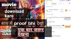 how to download Guardians of the galaxy vol.2 in hindi dubbed