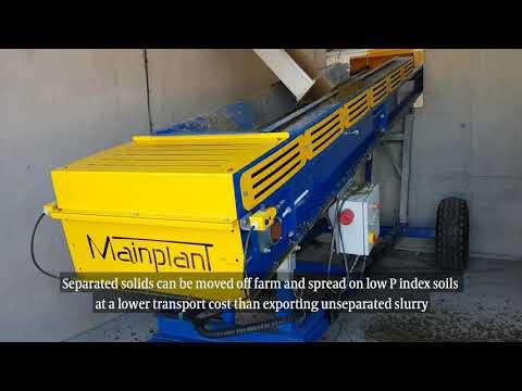 On-farm Removal Of Phosphorus From Slurry